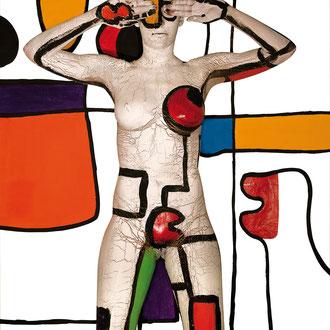 -3-M-Peinture sur corps-Photographie sur toile-160x106-Ed limitée 5 exemplaires//50x70 de 10ex