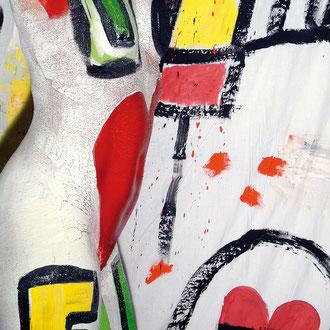 -1-EM- Peinture sur corps-Photographie sur toile-Ed limitée 141x106de 5ex//50x70 de 10ex