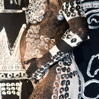-3-C&P-Peinture sur Corps Photographie sur toile ou Plexiglas  50x70 de 10 exemplaires