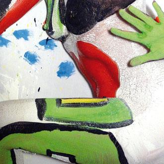 -4-EM- Peinture sur corps-Photographie sur toile-Ed limitée 146x106de 5ex//50x70 de 10ex