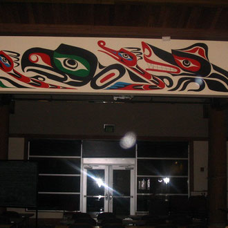 The Evergreen State College Longhouse Mural 2010