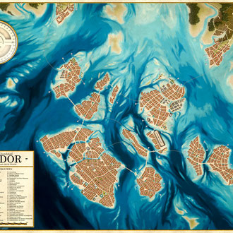 The Resplendent Island City of Ganador