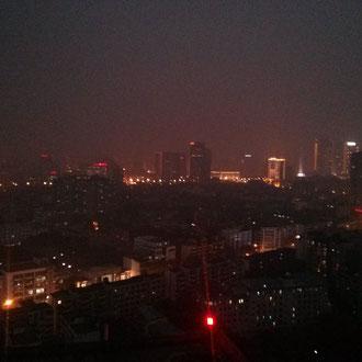 ...Chengdu bei Nacht.