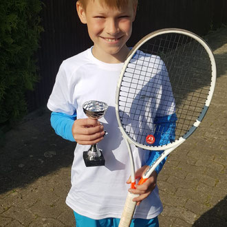 Bennet Sprysch 3. Platz Jugend-Regionsmeisterschaft Altersklasse M/U 11 2021