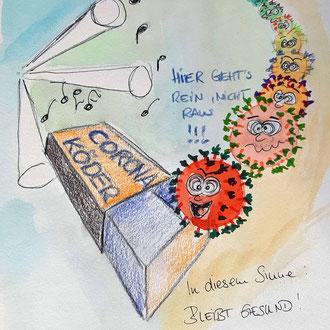 Silke und der Corona-Köder