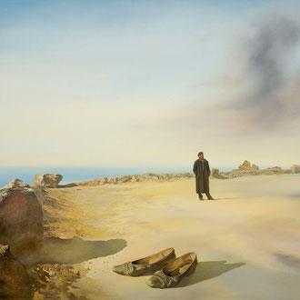 Genia Chef, California, 100 x 140 cm, oil on canvas