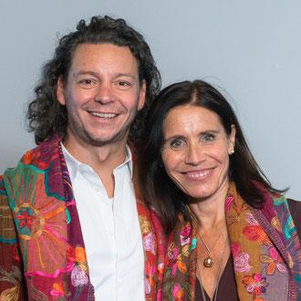 Melanie König-Kolz mit Renato Mihalic