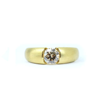 Brillant 1,12 ct. 750/ooo Gold.