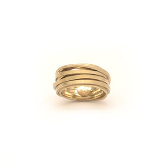 Ring. Champagner Gold. 750/ooo