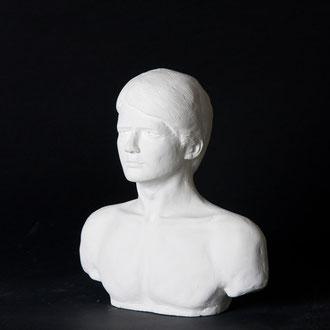 石膏像,マーティマクフライ,plaster figure, Shin Itagaki, Marty McFly