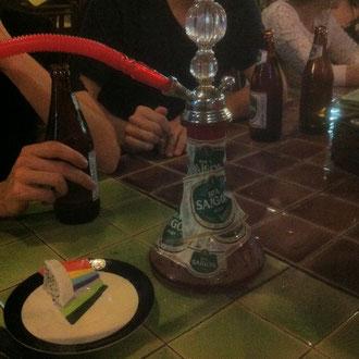 Shisha mit Saigon-Bier-Geschmack?