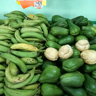 Platanos and Chayote
