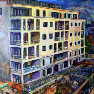 carré 29, sept 2016, 60x60cm, acrylique