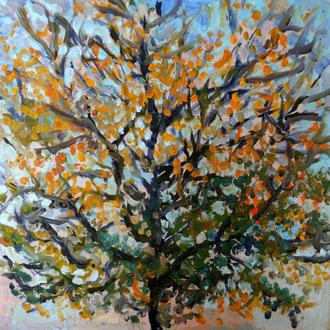 arbre 4, 40x40cm, huile, 2009
