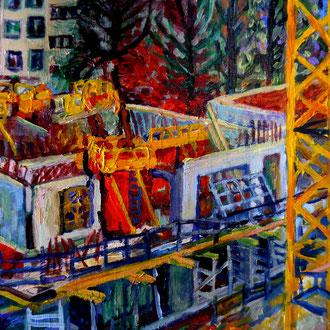 carré 24, 14 nov 2015, 30x30cm, acrylique, vendu