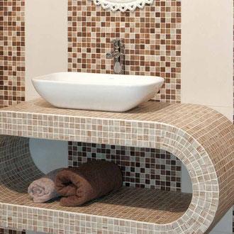Mosaico a stampa digitale Maple