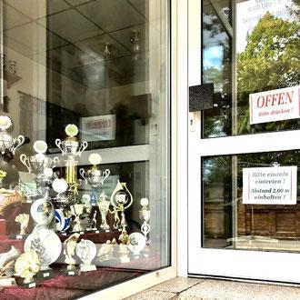 Eingang Schilderwerkstatt Gera