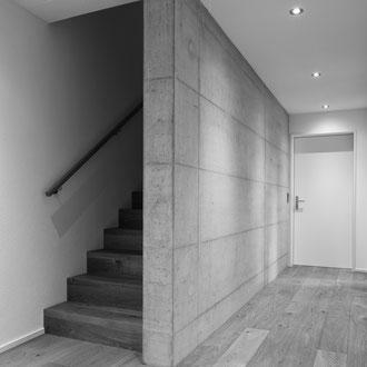 Neubau Einfamilienhaus Walenstadt 2013