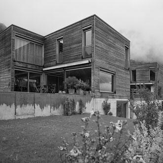Neubau Doppelhaus Sargans 2002