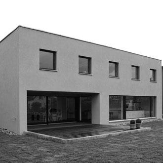 Neubau Einfamilienhaus Sargans 2009