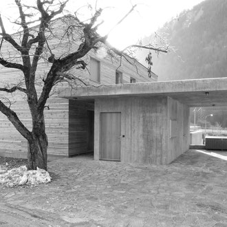 Neubau Einfamilienhaus Schiers 2007