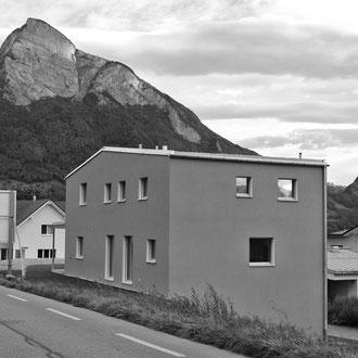 Neubau Einfamilienhaus Vilters 2012