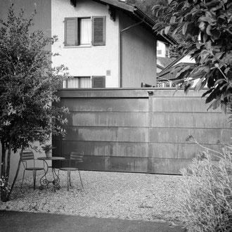 Neubau Gartenhaus Sargans 2015