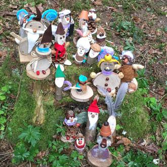 Ausflug ins Walderlebniszentrum zum Thema Wichtel