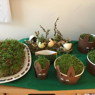 Naturerfahrung - Wir säen Kresse an