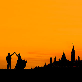 Ottawa Parliament at Sunrise