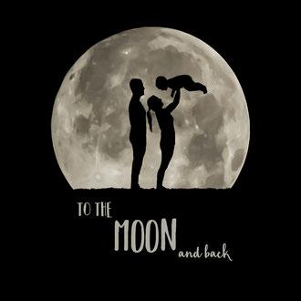 Moon over Mooney's Bay