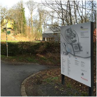 Leitsystem Schlossareal Museum und Forum Schloss Homburg