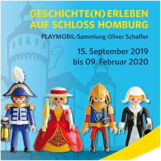 Geschichte(n) erleben auf Schloss Homburg. PLAYMOBIL-Sammlung Oliver Schaffer