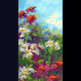 Meadow in Bloom, 16 x 8
