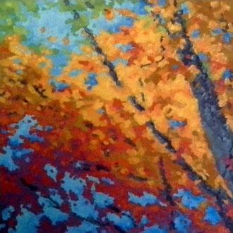 Festival Of Fall, 24x24