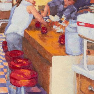 Diner Delights, 24 x 12