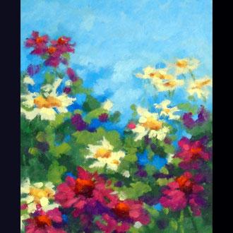 Garden Poetry, 12 x 9