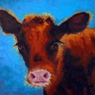 Portrait Day, 18 x 18- Pet Portrait Commissions also available!