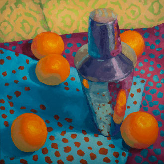 Sip with Dot, 24 x 24