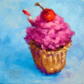 Cherry On Top, 6 x 6