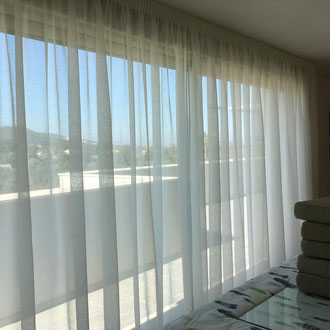 Fitting new curtains