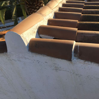Roof after the repairs