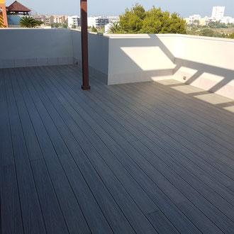 New terrace floor done!