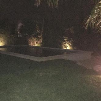 Installing garden lights