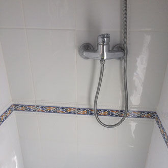 Done, leak and shower repaired