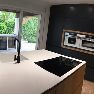 Kitchen installed by a third party
