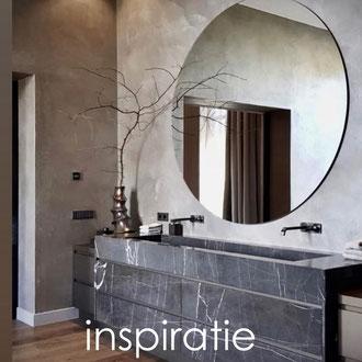 marmer, graniet en natuursteen inspiratie