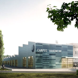 Campus Handwerk, Halle - h.e.i.z.Haus Architektur.Stadtplanung