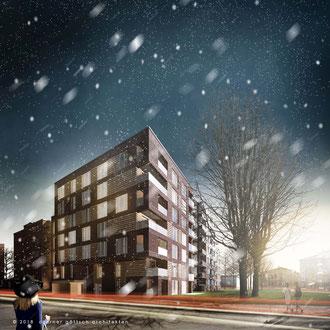 Urbane Implantate, Lawaetzweg - Czerner Göttsch Architekten