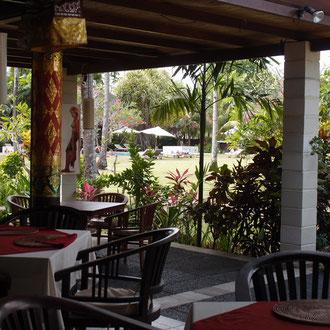 ナタバレビラのレストラン